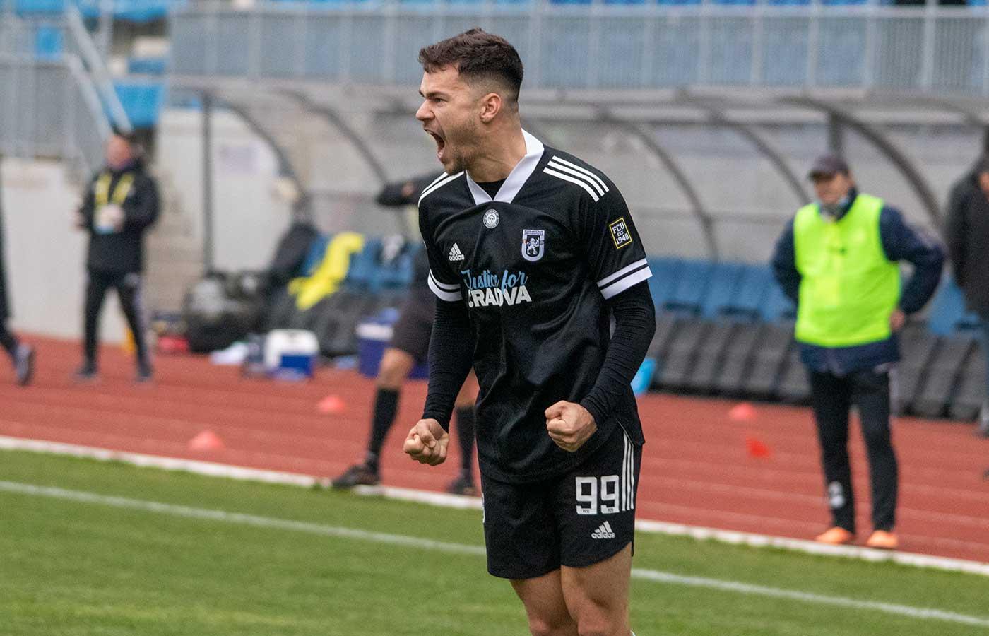 Liga 2 - Etapa 15 - Pandurii - FCU - A doua repriză - 5 decembrie 2020