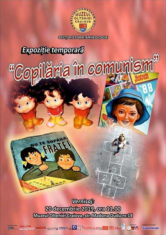 Afis Copilaria in comunism