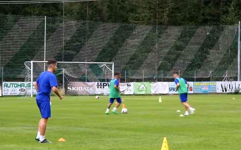 FCU - Cantonament Austria - 17.07.2019 - Antrenamentul de seară