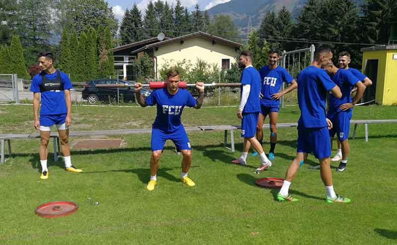 FCU - Cantonament Austria - 19-07-2019 - Antrenamentul de dimineață