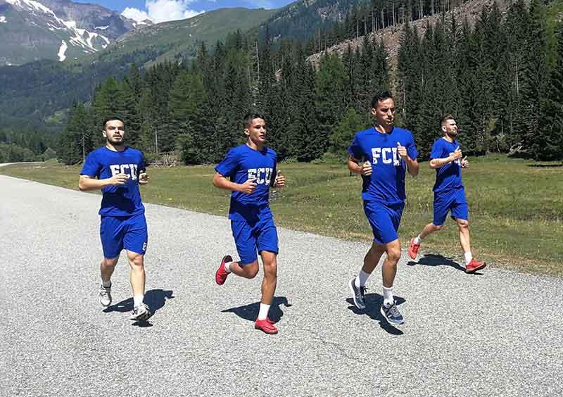 FCU - Cantonament Austria - 20-07-2019 - Antrenamentul de dimineață