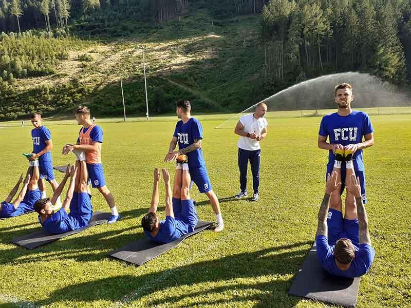 FCU - Cantonament Austria - 23-07-2019 - Antrenament