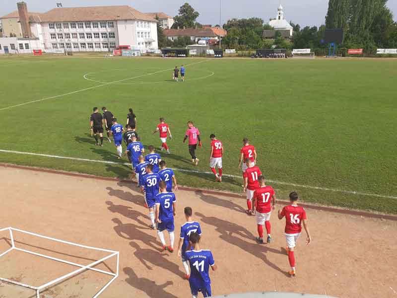 AMICAL Chișineu Criș - FCU 0-0 - Prima repriză - 31.07.2019