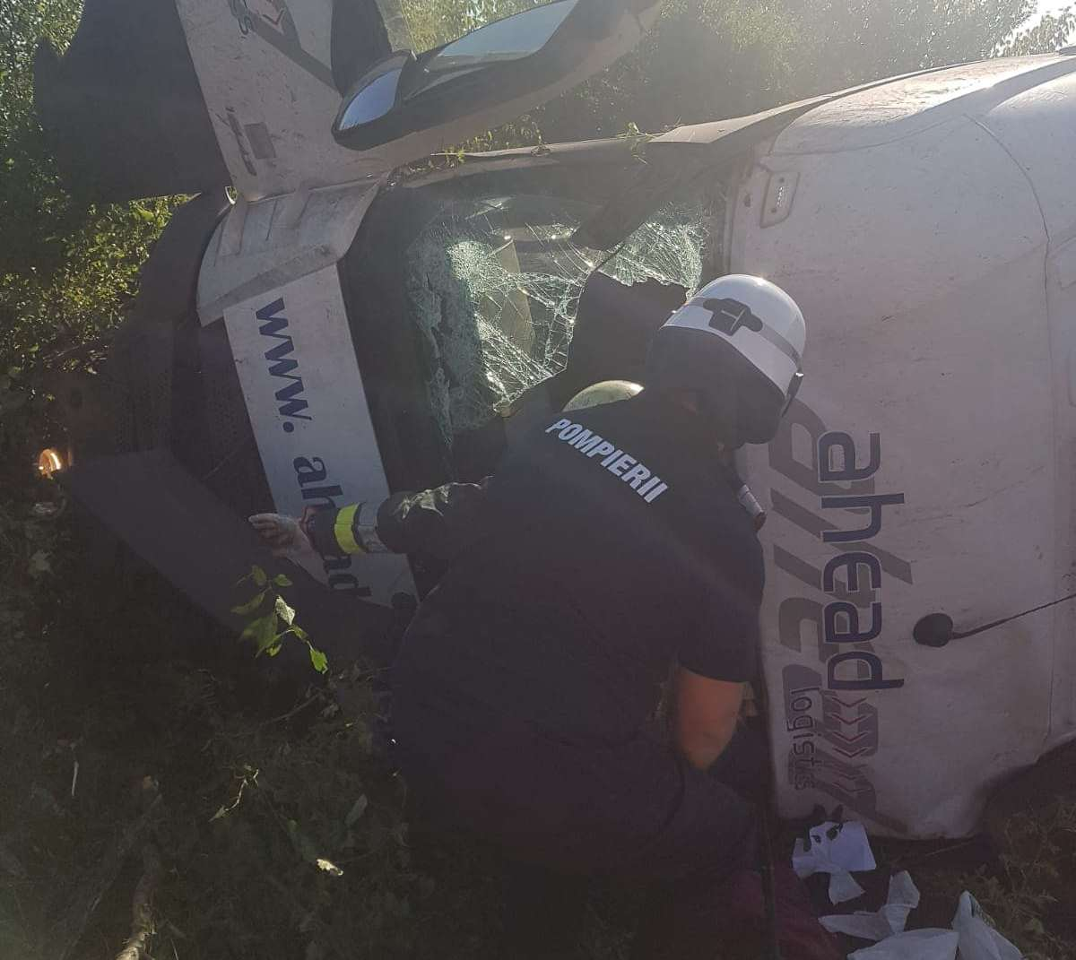 accident tir pielesti 190819